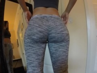 BellaBrookz (Bella ASMR) - Fitting Pants Dat Ass and Frontal Nude