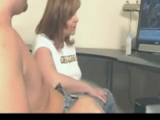 #1 Mom Catches StepSon Jerking to Porn Decides to Help