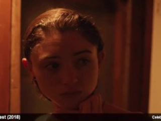 Karin Eaton & Natalia Dyer nude and lingerie movie scenes