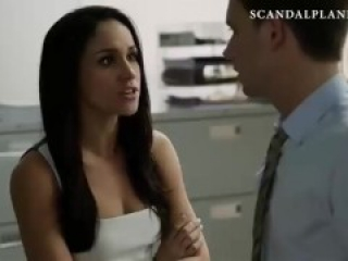 Meghan Markle sex scene from 'Suits' on ScandalPlanetCom
