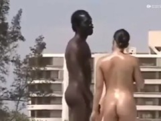 Nude beach hot cfnm dick and pussy