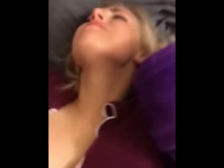 Small Blonde fucks the shit out of him // Kik @ ashtonfun